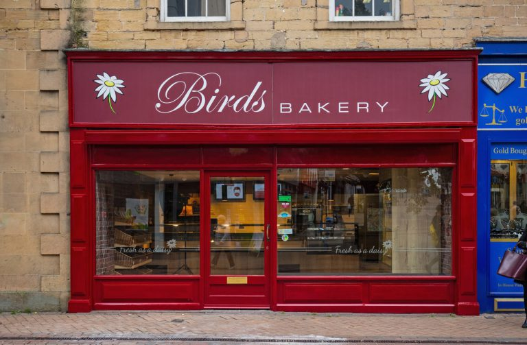 Birds Bakery store front