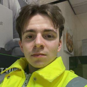 Ryan Pickering at work